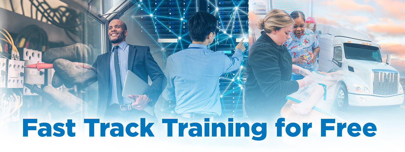 Fast track Training for free