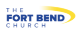 words Fort Bend Church as a logo
